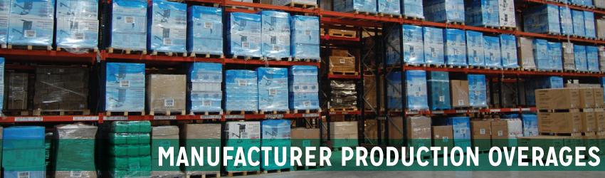 Manufacturer Production Overages